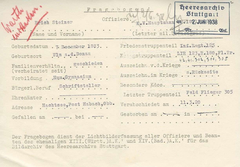 Steiner, Erich, Bild 3