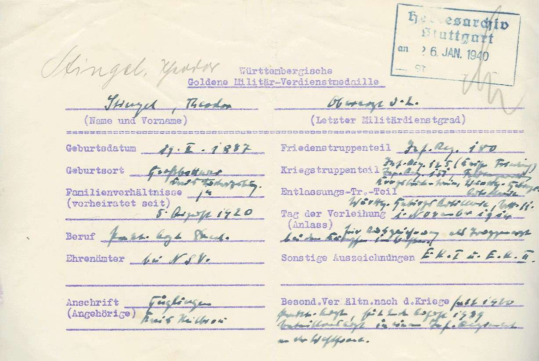 Stingel, Theodor, Dr. med., Bild 2
