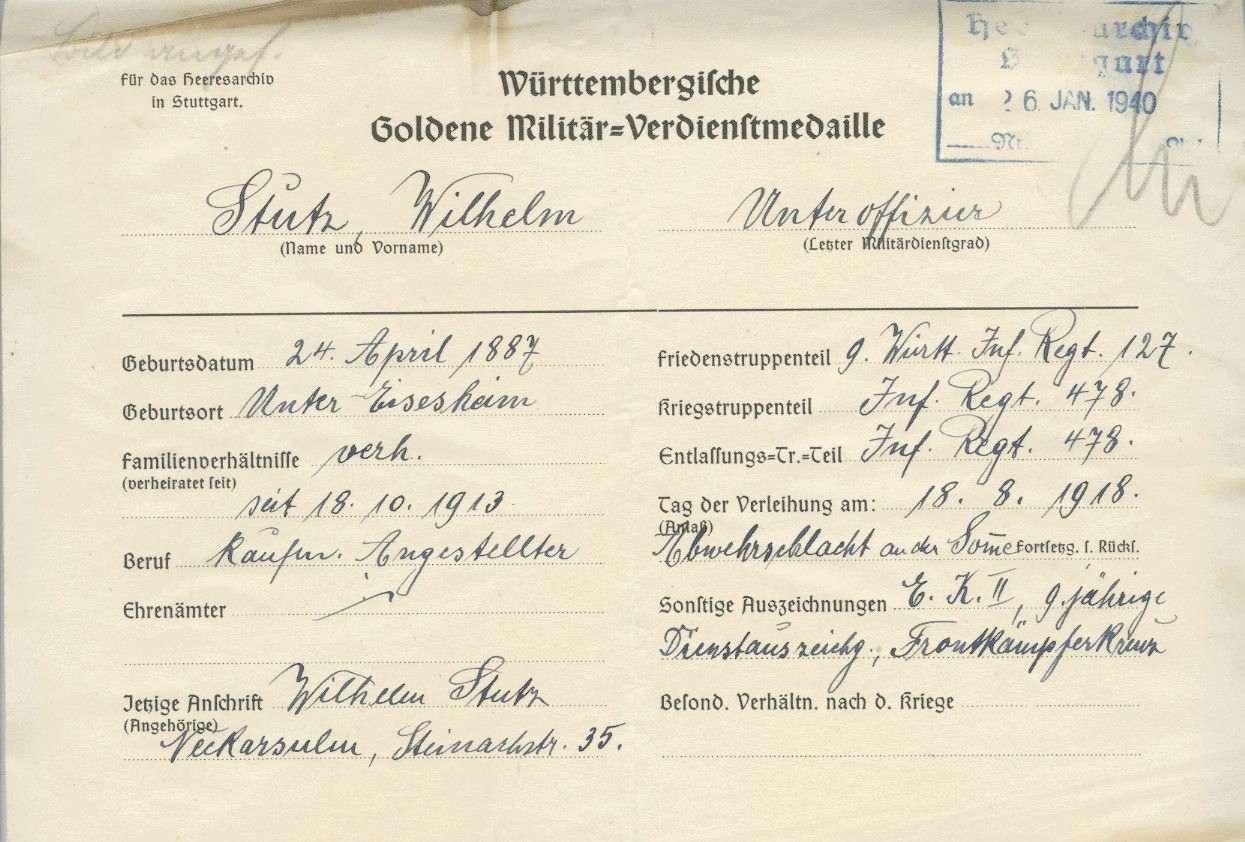 Stutz, Wilhelm, Bild 2