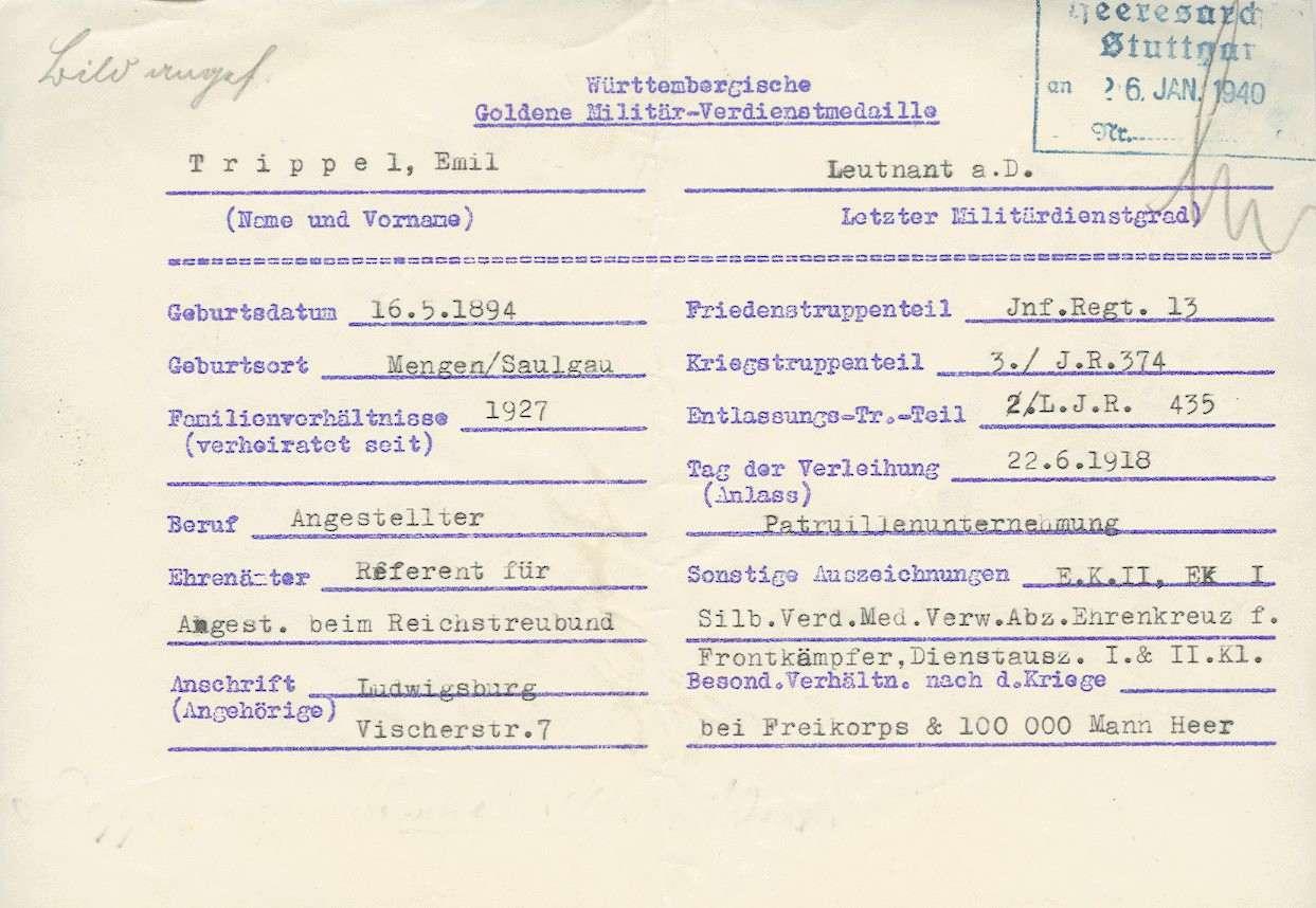 Trippel, Emil, Bild 2
