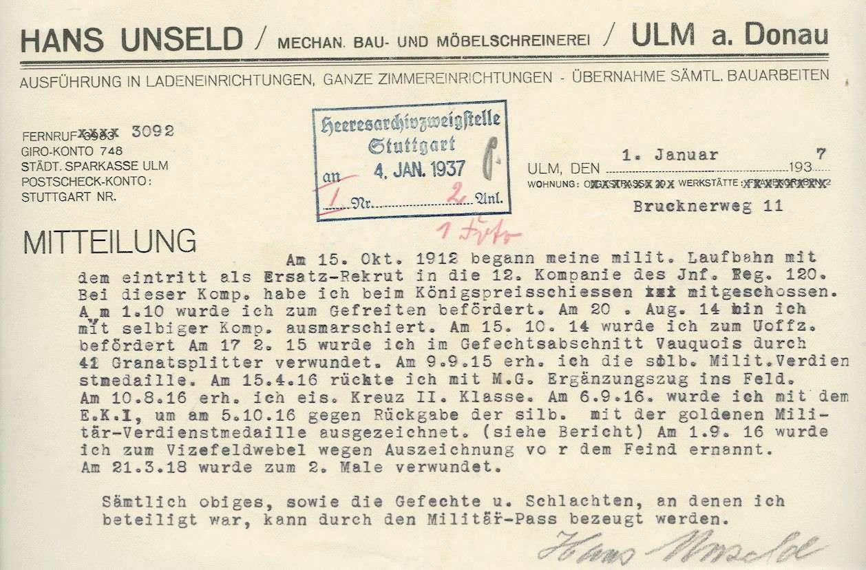 Unseld, Hans, Bild 3