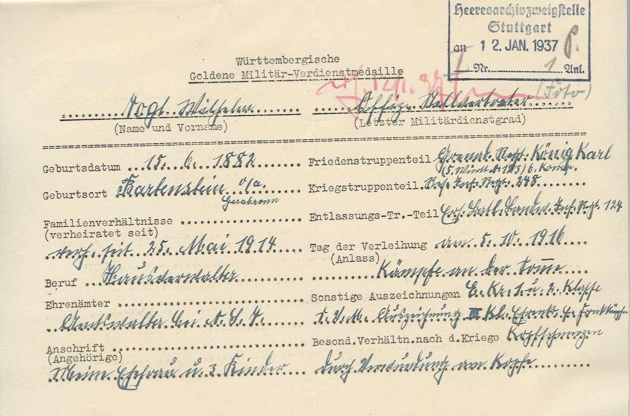 Vogt, Wilhelm, Bild 2