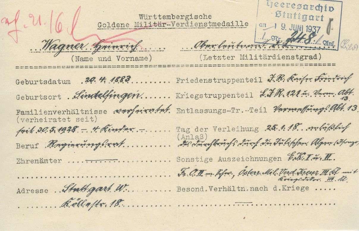Wagner, Heinrich, Bild 2