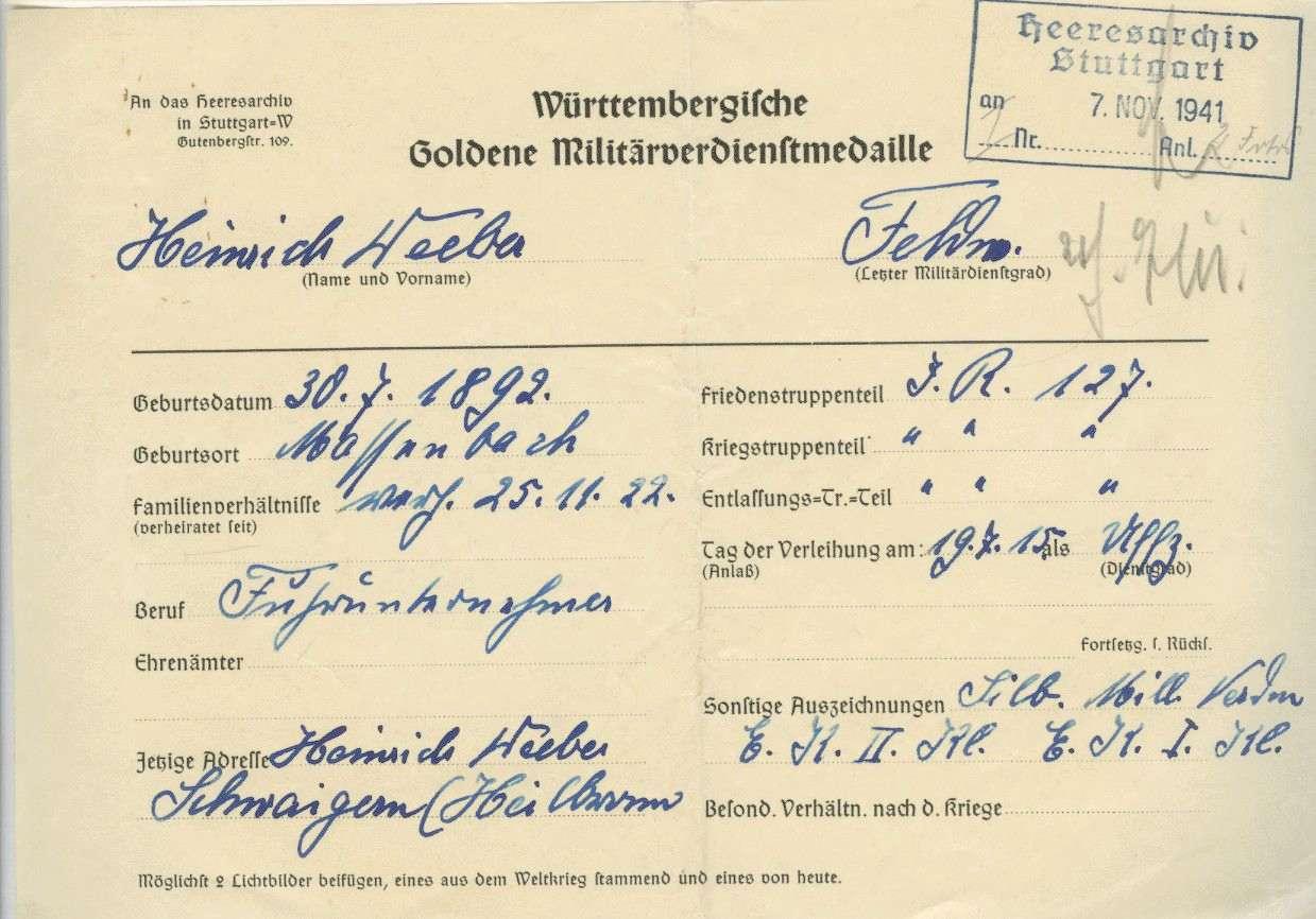 Weeber, Heinrich, Bild 2