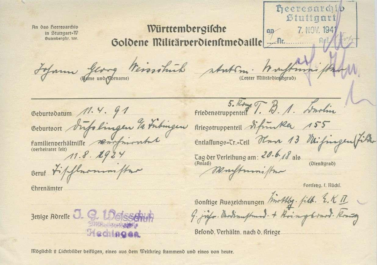 Weisschuh, Johann Georg, Bild 2