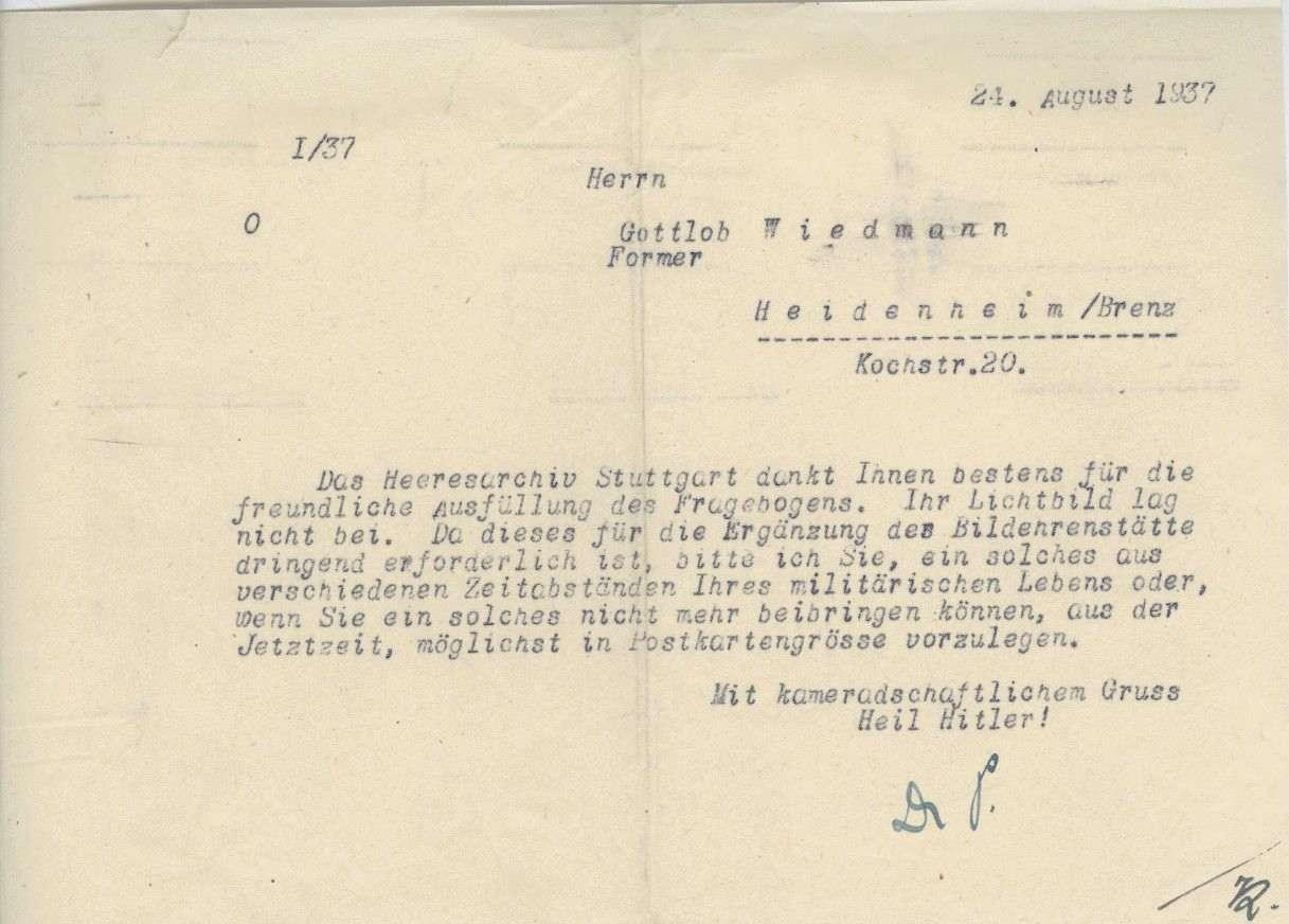 Wiedmann, Gottlob, Bild 3