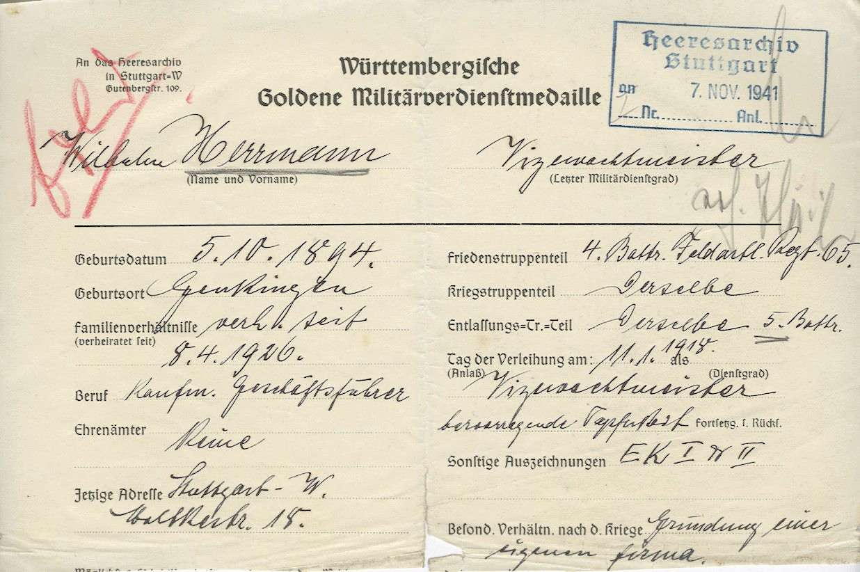 Wilhelm, Herrmann, Bild 1