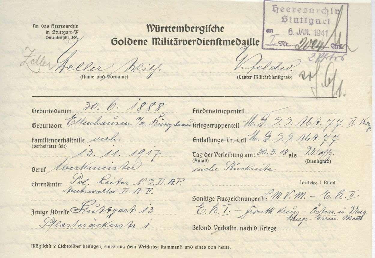 Zeller, Wilhelm, Bild 3