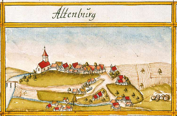 Altenburg, Reutlingen RT, Bild 1