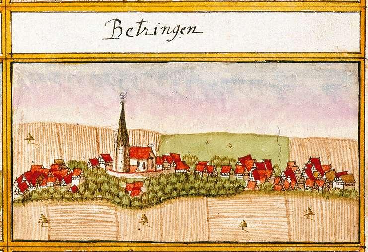 Betzingen : Stadt Reutlingen RT, Bild 1