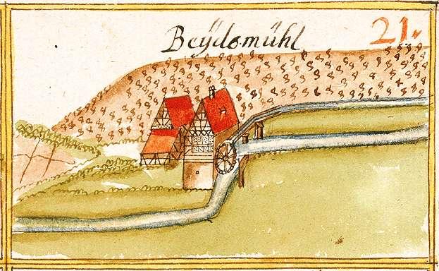 Beutenmühle, abgeg. bei Steinheim an der Murr LB, Bild 1