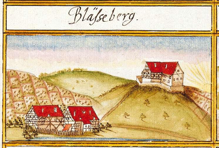 Bläsiberg, aufgeg. in Tübingen TÜ, Bild 1