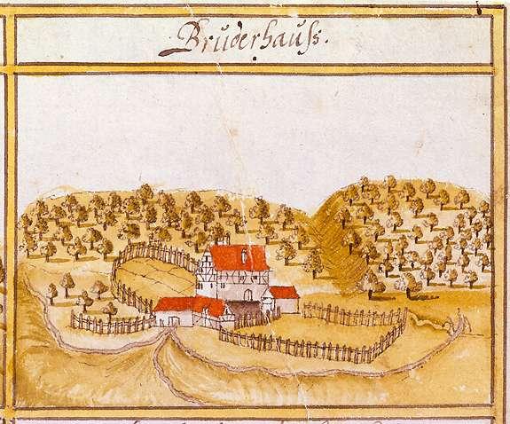 Bruderhaus, aufgeg. in Vaihingen, Stkr. Stuttgart, Bild 1