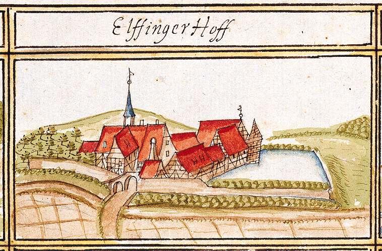 Elfinger Hof, Staatsdomäne : Stadt Maulbronn, PF, Bild 1