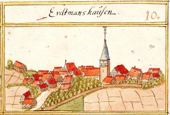 Erdmannshausen LB, Bild 1