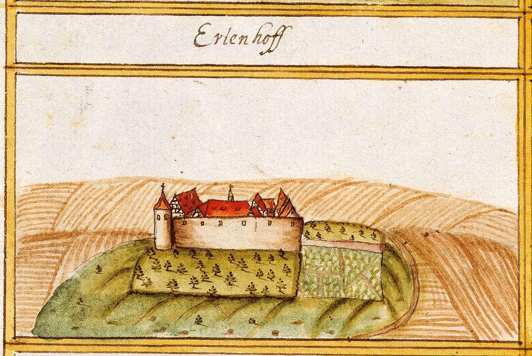 Erlachhof, abgeg. bei Ludwigsburg LB, Bild 1