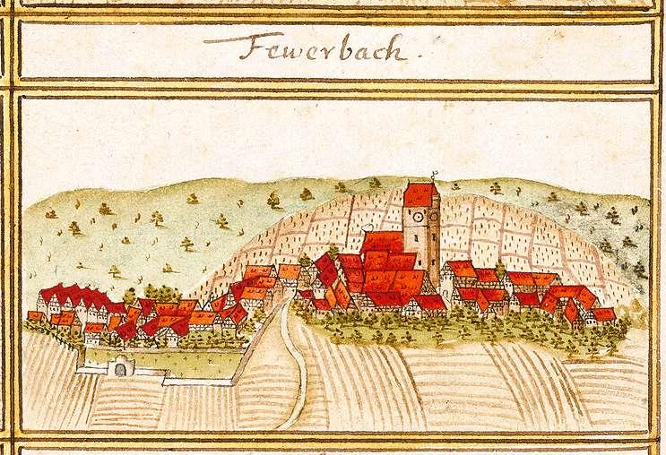 Feuerbach, Stkr. Stuttgart, Bild 1