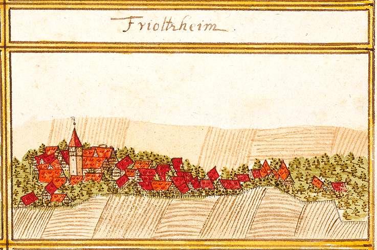 Friolzheim, PF, Bild 1