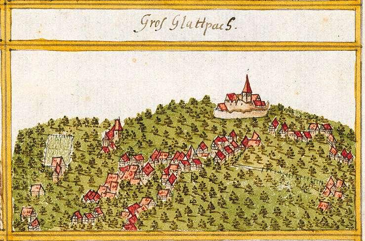 Großglattbach, Mühlacker, PF, Bild 1