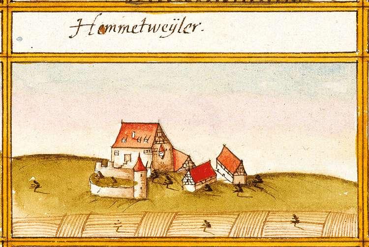 Hammetweil : Neckartenzlingen ES, Bild 1