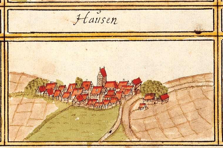 Hausen an der Zaber, Brackenheim HN, Bild 1