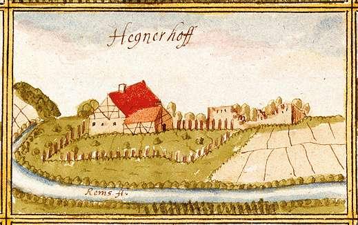 Hegnauhof : Oberurbach, Urbach WN, Bild 1
