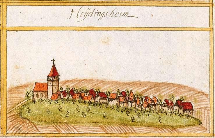 Heutingsheim, Freiberg am Neckar LB, Bild 1