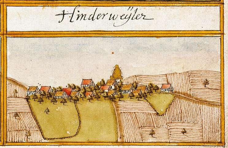 Hinterweiler : Gomaringen TÜ, Bild 1