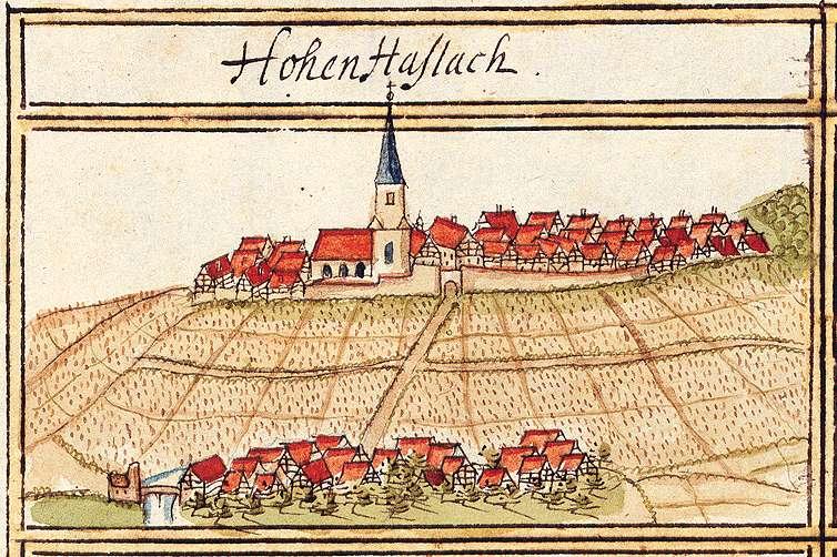 Hohenhaslach, Sachsenheim LB, Bild 1