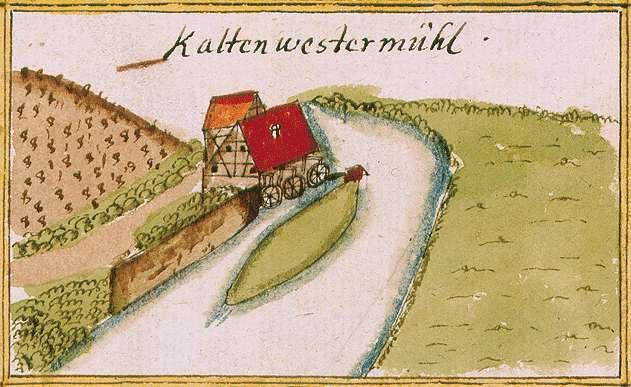 Kaltenwestermühle, abgeg. bei Neckarwestheim HN, Bild 1