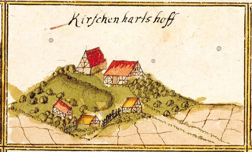 Kirschenhardthof : Erbstetten, Burgstetten WN, Bild 1
