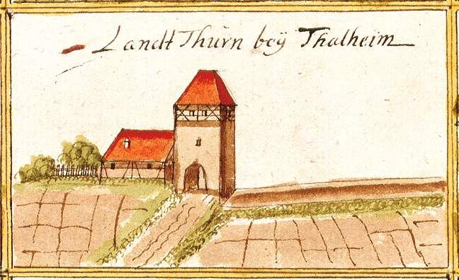 Landturm : Stadt Lauffen am Neckar HN, Bild 1