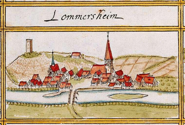 Lomersheim, Mühlacker, PF, Bild 1