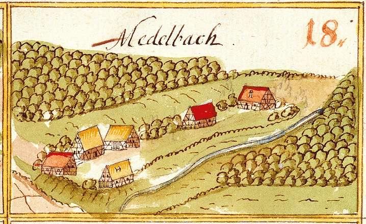 Mettelbach : Kirchenkirnberg, Murrhardt WN, Bild 1