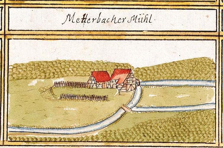 Mettenbacher Mühle : Diefenbach, Sternenfels, PF, Bild 1