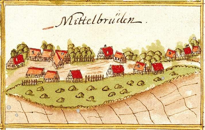 Mittelbrüden : Oberbrüden, Auenwald WN, Bild 1