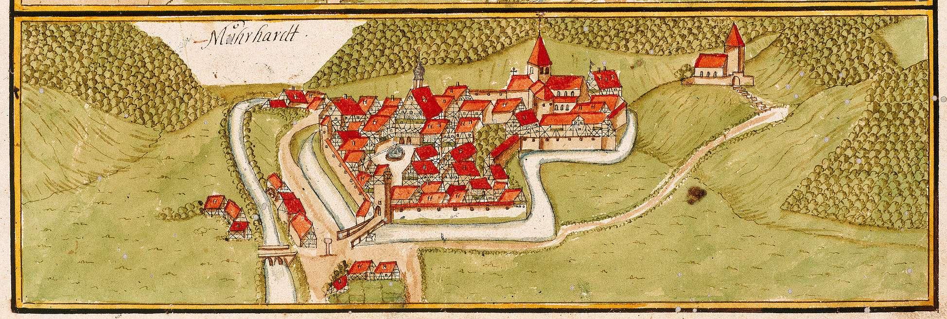Murrhardt, Kloster WN, Bild 1
