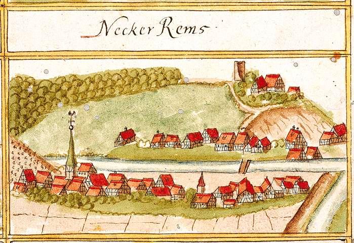 Neckarrems, Remseck am Neckar LB, Bild 1
