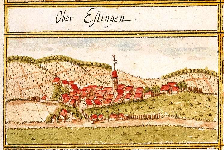 Oberesslingen : Stadt Esslingen am Neckar ES, Bild 1