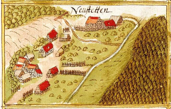 Oberneustetten : Kirchenkirnberg, Murrhardt WN, Bild 1