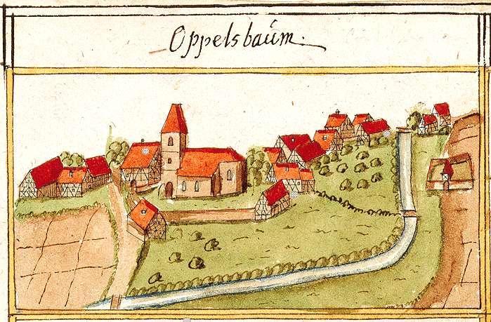 Oppelsbohm, Berglen WN, Bild 1