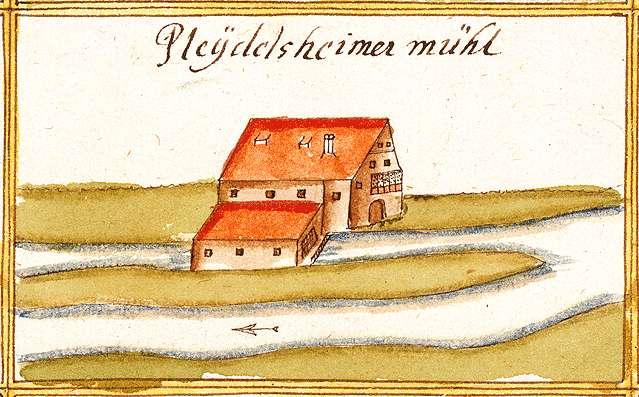 Pleidelsheimer Mühle LB, Bild 1