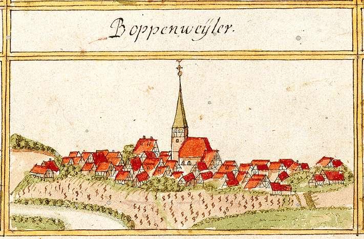 Poppenweiler, Ludwigsburg LB, Bild 1