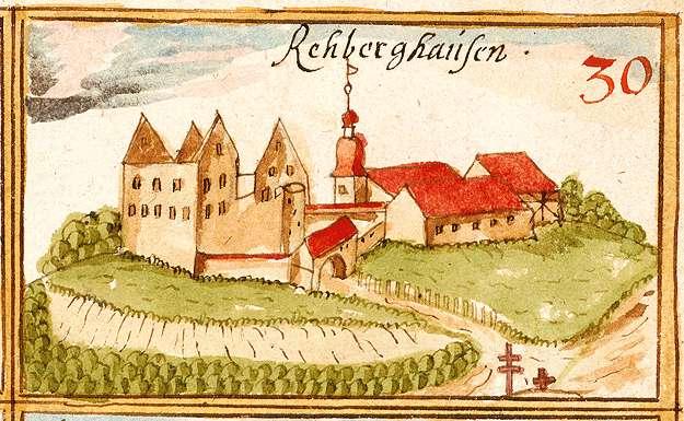 Rechberghausen - Burg GP, Bild 1