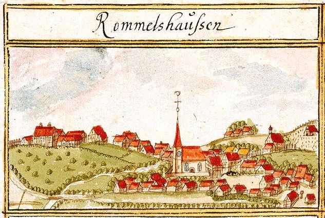 Rommelshausen, Kernen im Remstal WN, Bild 1