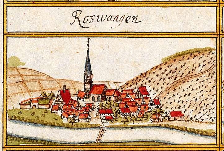 Roßwag, Vaihingen an der Enz LB, Bild 1