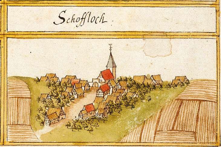 Schopfloch, Lenningen ES, Bild 1