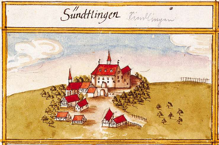 Sindlingen : Unterjettingen, Jettingen BB, Bild 1
