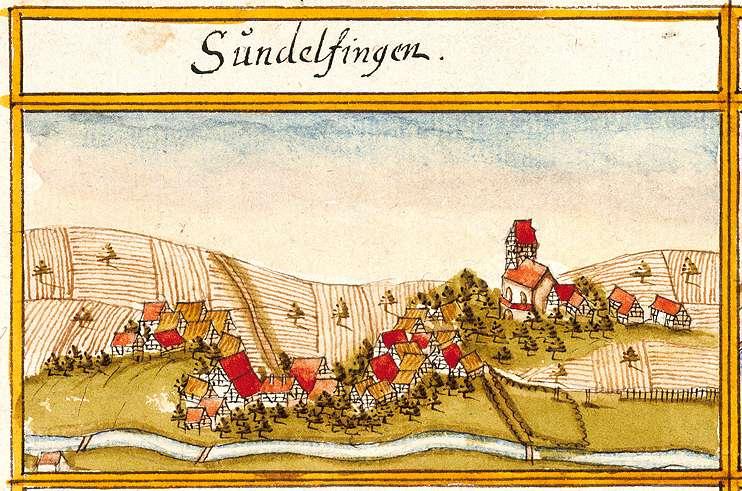 Sondelfingen : Stadt Reutlingen RT, Bild 1