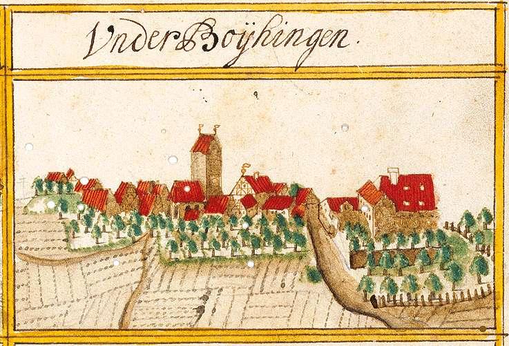 Unterboihingen : Stadt Wendlingen am Neckar ES, Bild 1